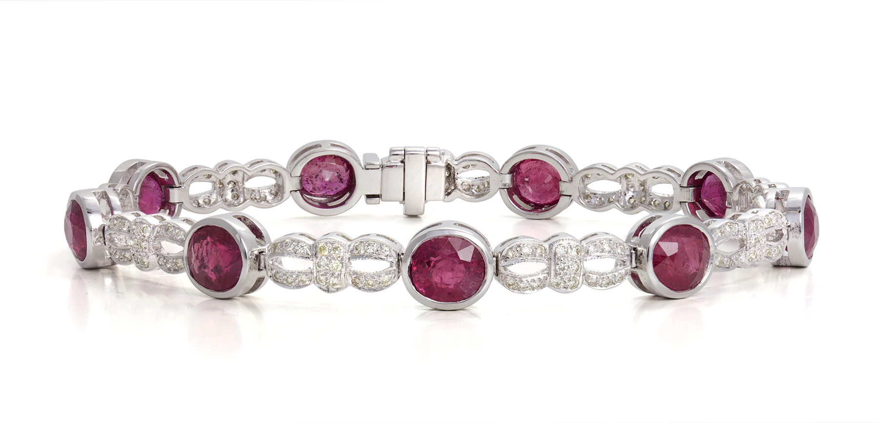 Ruby Diamond Bracelet 2